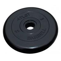 Диск обрезиненный MB Barbell Atlet  (51 мм)