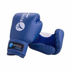 Перчатки боксерские Rusco blue