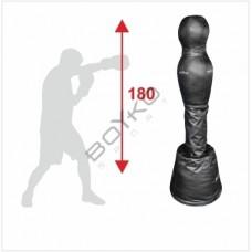 Манекен для бокса Бойко-Спорт, Силуэт, напольный пвх ткань -180см