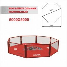 Восьмиугольник ММА НАПОЛЬНЫЙ 5,0х5,0м (диагональ 5,4 м)