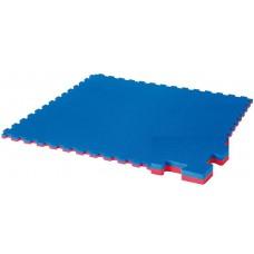 Татами (Будо маты) ласточкин хвост 1х1х0,4м синие/красные
